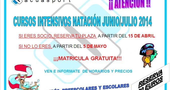 NATACION JUNIO JULIO